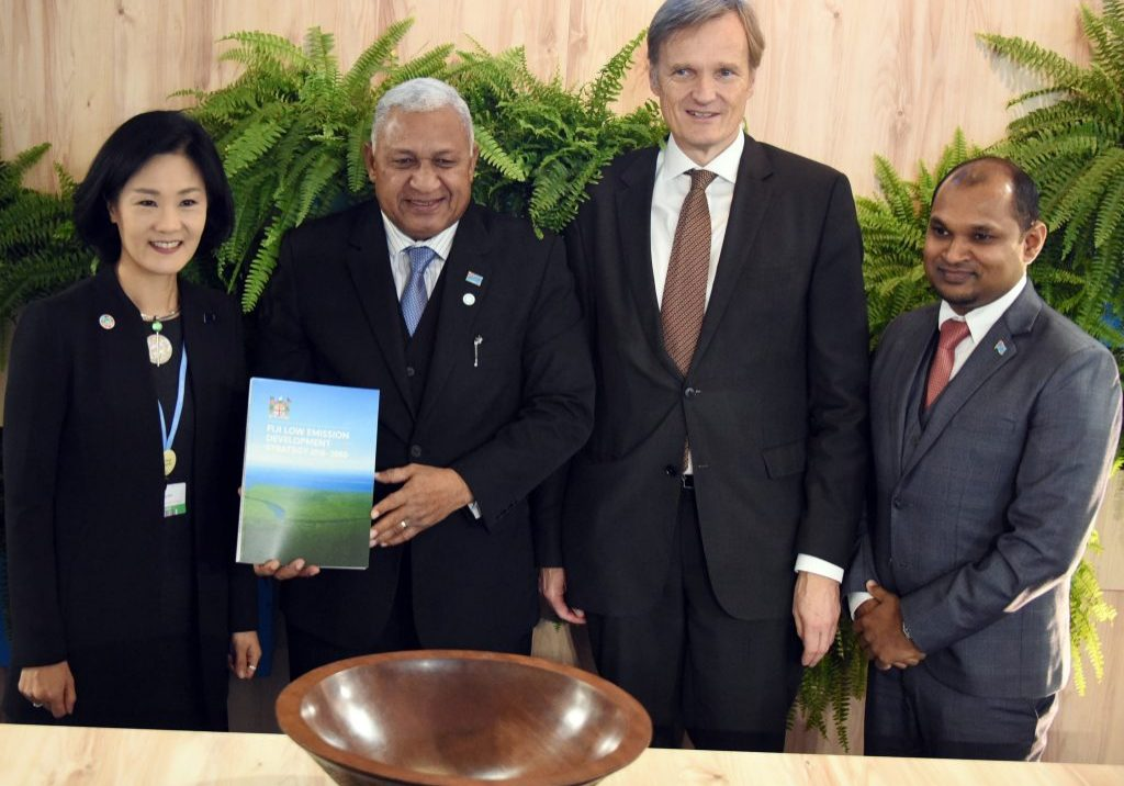 Fiji Continues to Lead International Climate Action with Launch of Comprehensive Low Emissions Development Strategy